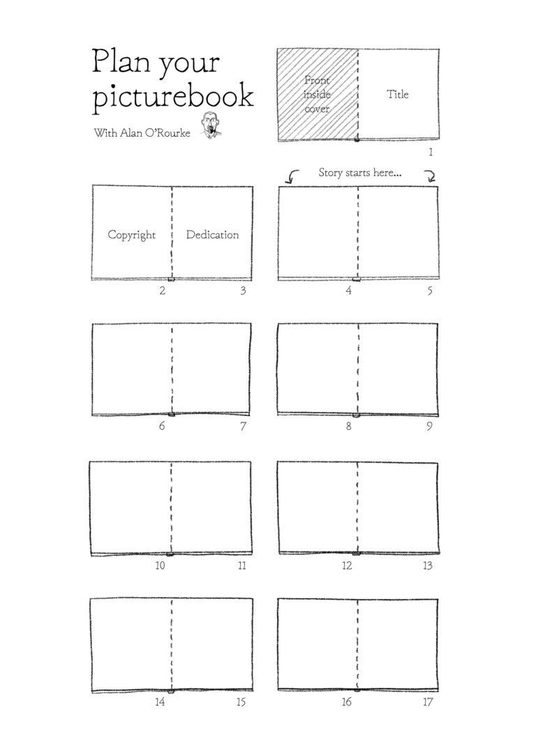 Picturebook-Planner-Half-page-A4-Alan-ORourke